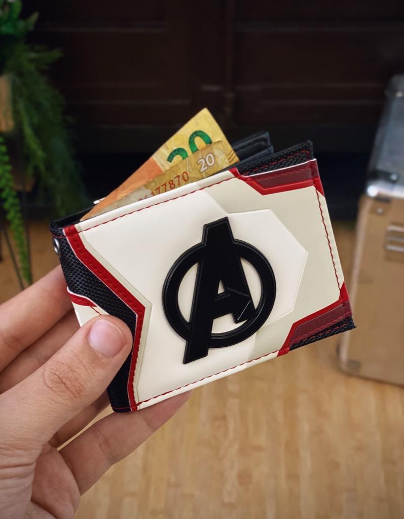 Carteira Traje Viagem no Reino Quântico Vingadores Ultimato Avengers End Game Marvel - EV