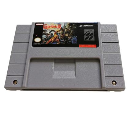 Cartucho Decorativo Super Nintendo: Castlevania III: Dracula's Curse - MKP
