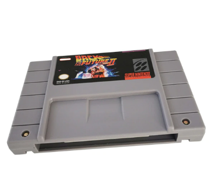 Cartucho Decorativo Super Nintendo: De Volta Para o Futuro 2 Back to The Future II - MKP