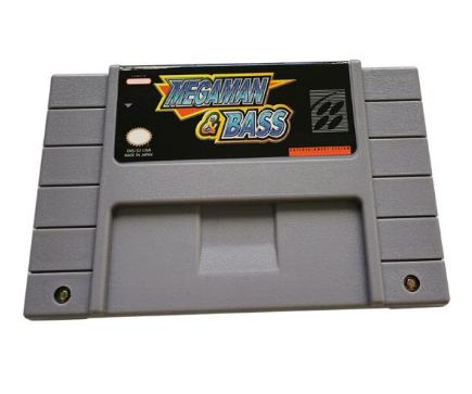Cartucho Decorativo Super Nintendo: Mega Man & Bass - MKP