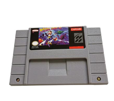 Cartucho Decorativo Super Nintendo: Mega Man X - MKP