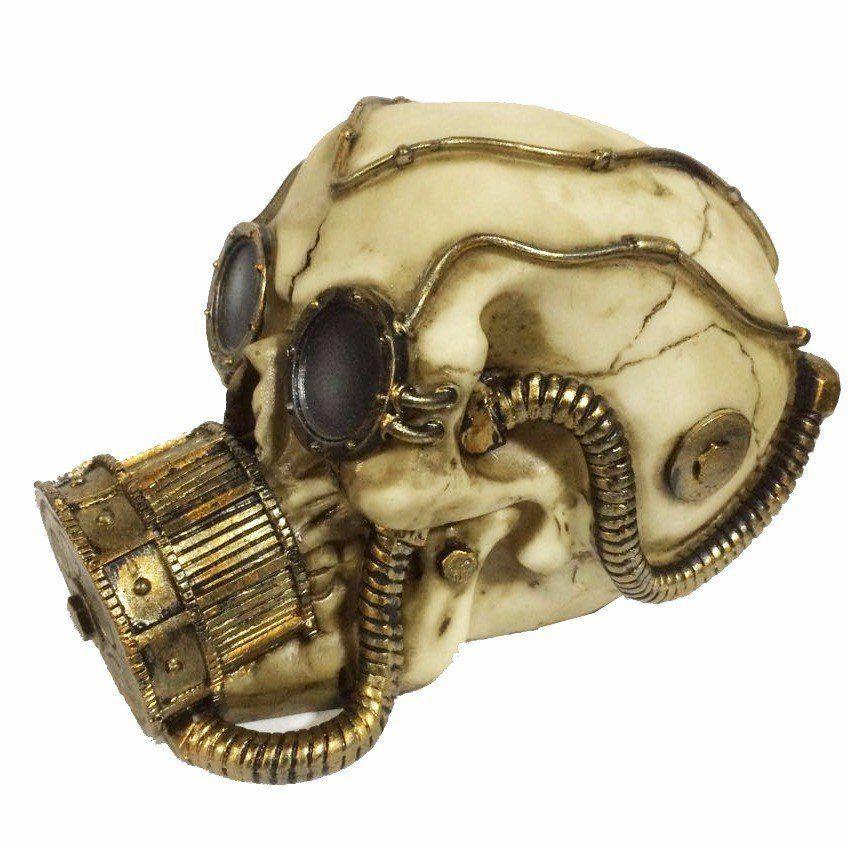 Caveira com Máscara de Oxigênio - Urban