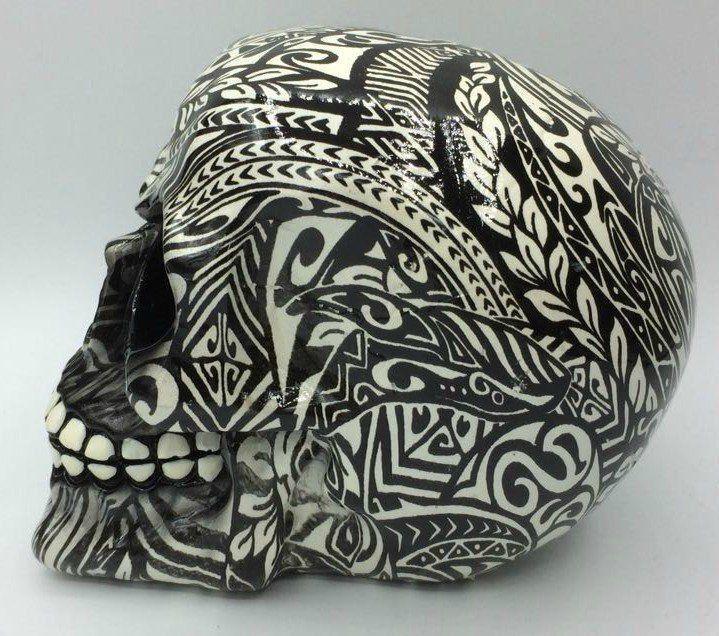 Caveira Tribal Tatoo - Urban