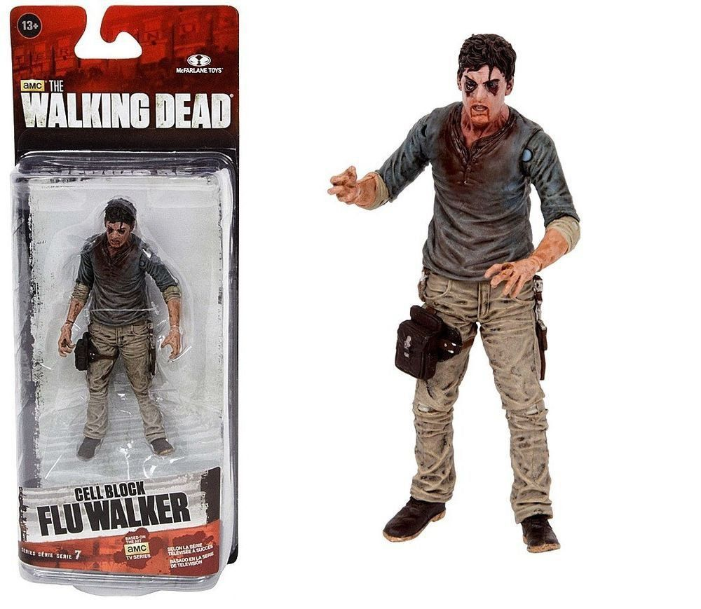 Boneco Cell Block Flu Walker: The Walking Dead Serie 7 - McFarlane Toys