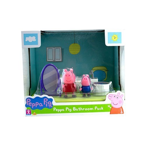 Cenário Banheiro da Peppa Pig: Peppa Pig - Sunny