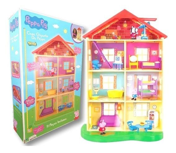 Cenário Casa Gigante da Peppa (11 Peças Inclusas): Peppa Pig - Sunny
