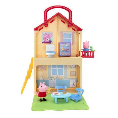Cenário Casa Maletinha da Peppa (7 Peças Inclusas): Peppa Pig - Sunny