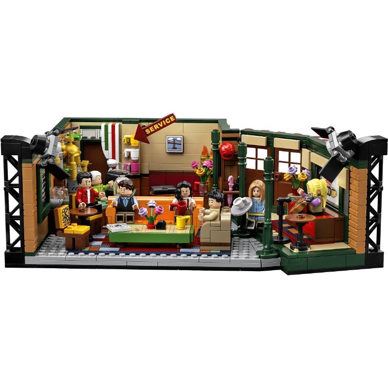 Cenário Friends Central Perk Café Lego Model Building Block Bricks 21319 - Toy Gift - MKP