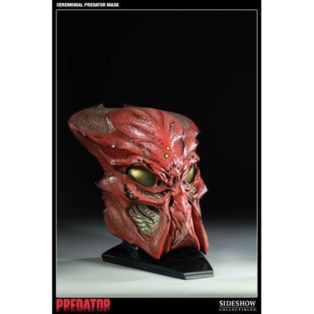 Ceremonial Predador / Predator Máscara Réplica Escala 1/1 - Sideshow (Produto Exposto)