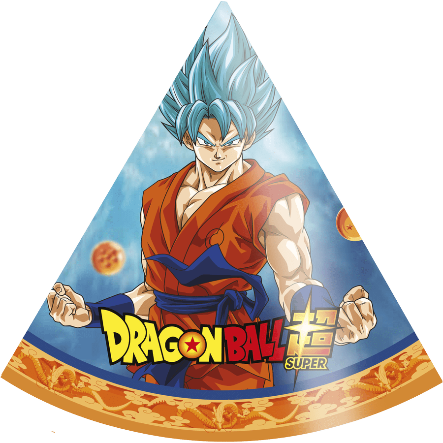 Kit Com 8 Chapéus: Dragon Ball - Festcolor