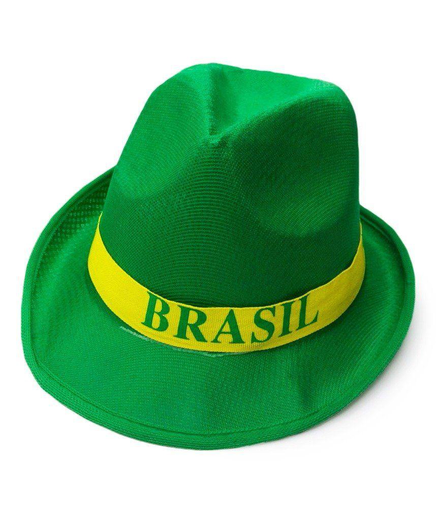 Chapéu Panamá Brasil: Copa Do Mundo Rússia 2018 (Verde)