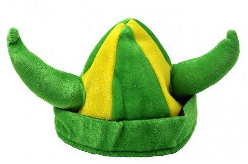 Chapéu Viking (Verde e Amarelo): Copa do Mundo