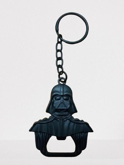 Chaveiro/Abridor Darth Vader: Star Wars (Preto)