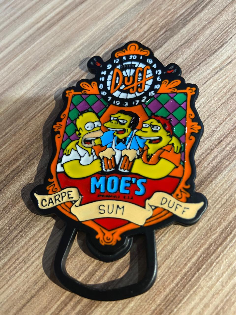 Abridor de Garrafa Moe's Bar: Os Simpsons - EV