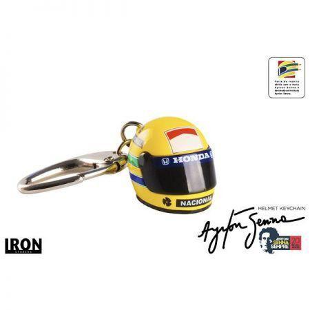 Chaveiro Ayrton Senna - Iron Studios