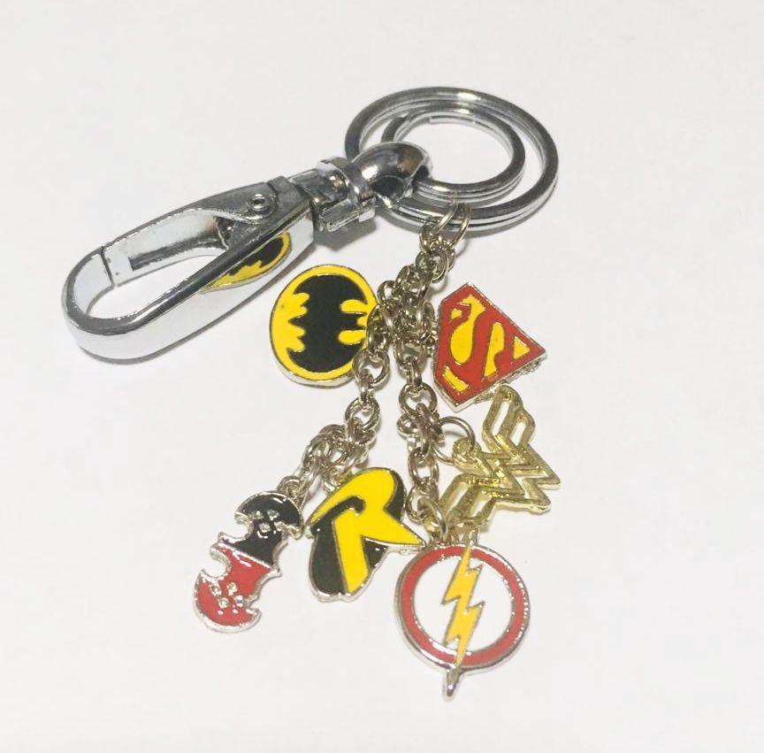Chaveiro Berloques DC Comics (Heróis)
