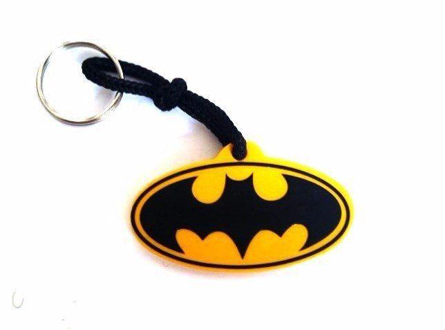 Chaveiro de Borracha Logo Batman