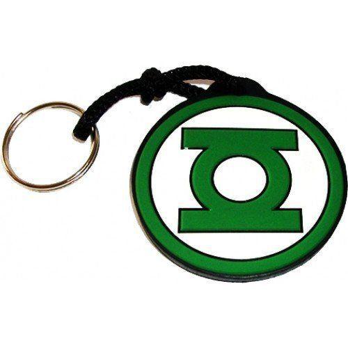 Chaveiro de Borracha Lanterna Verde Simbolo