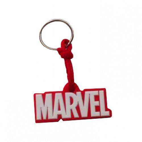 Chaveiro de Borracha Marvel
