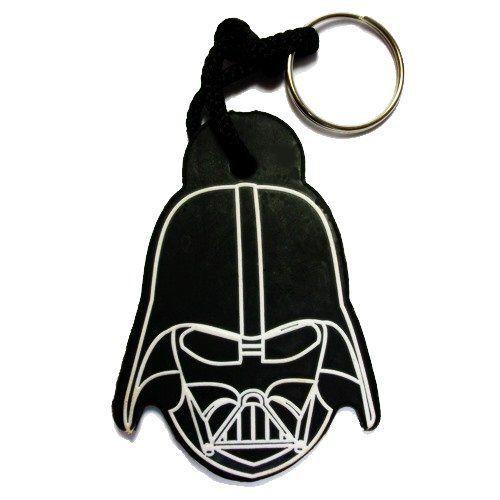 Chaveiro de Borracha Face Darth Vader: Star Wars