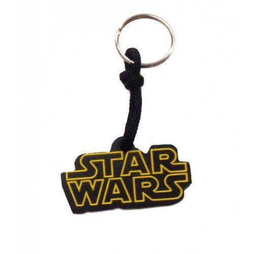 Chaveiro de Borracha Logo Star Wars