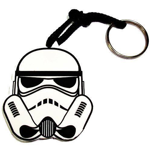 Chaveiro de Borracha Face Stormtrooper: Star Wars
