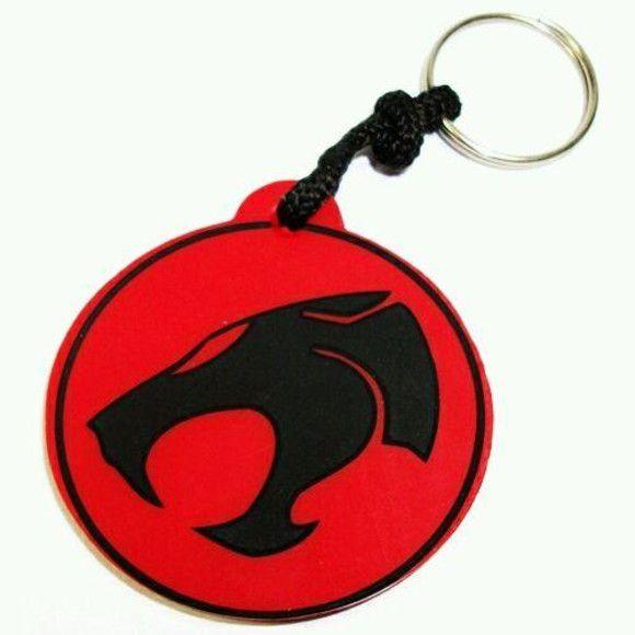 Chaveiro Borracha Thundercats Logo