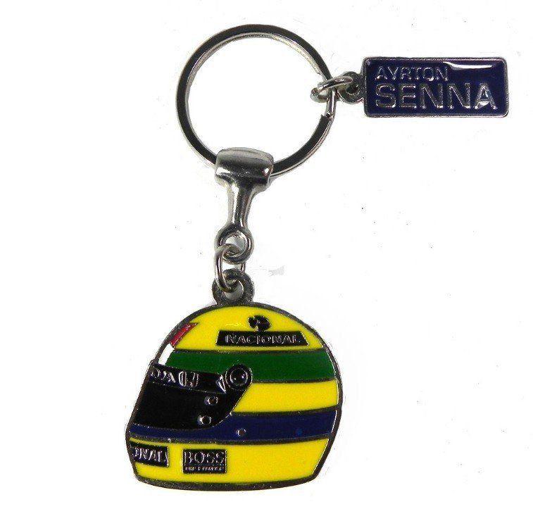Chaveiro Capacete: Ayrton Senna - Premium Collectibles