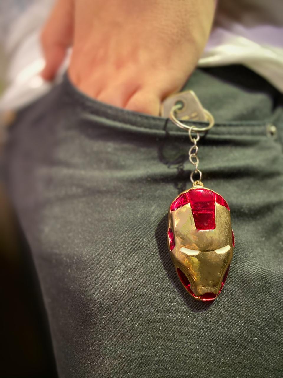 Chaveiro Capacete do Homem de Ferro