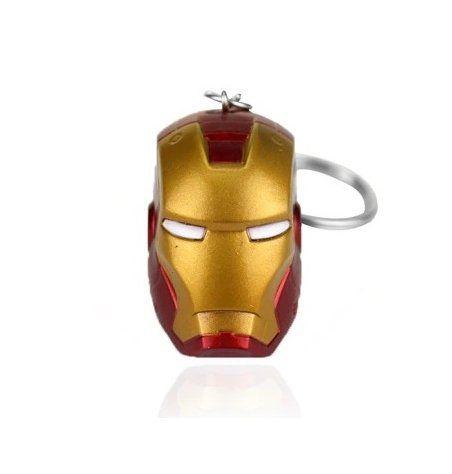 Chaveiro Capacete Homem de Ferro (Iron Man): Marvel Comics