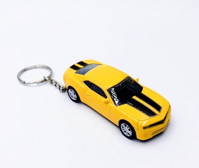 Chaveiro Carrinho: Camaro (Amarelo)