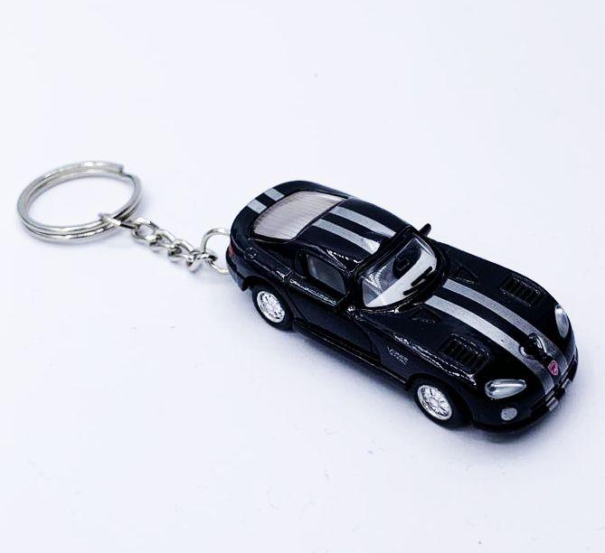 Chaveiro Carrinho: Dodge Viper (Preto)