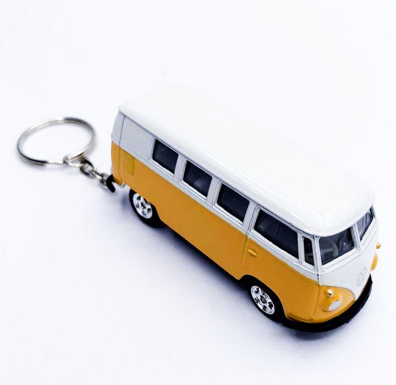 Chaveiro Carrinho: Kombi (Amarelo)