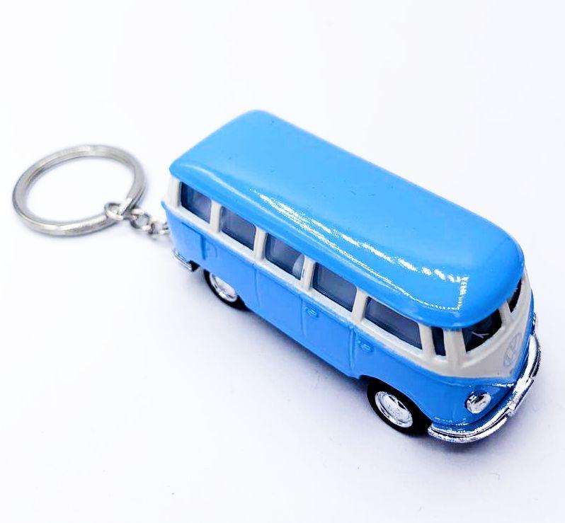 Chaveiro Carrinho: Kombi (Azul)