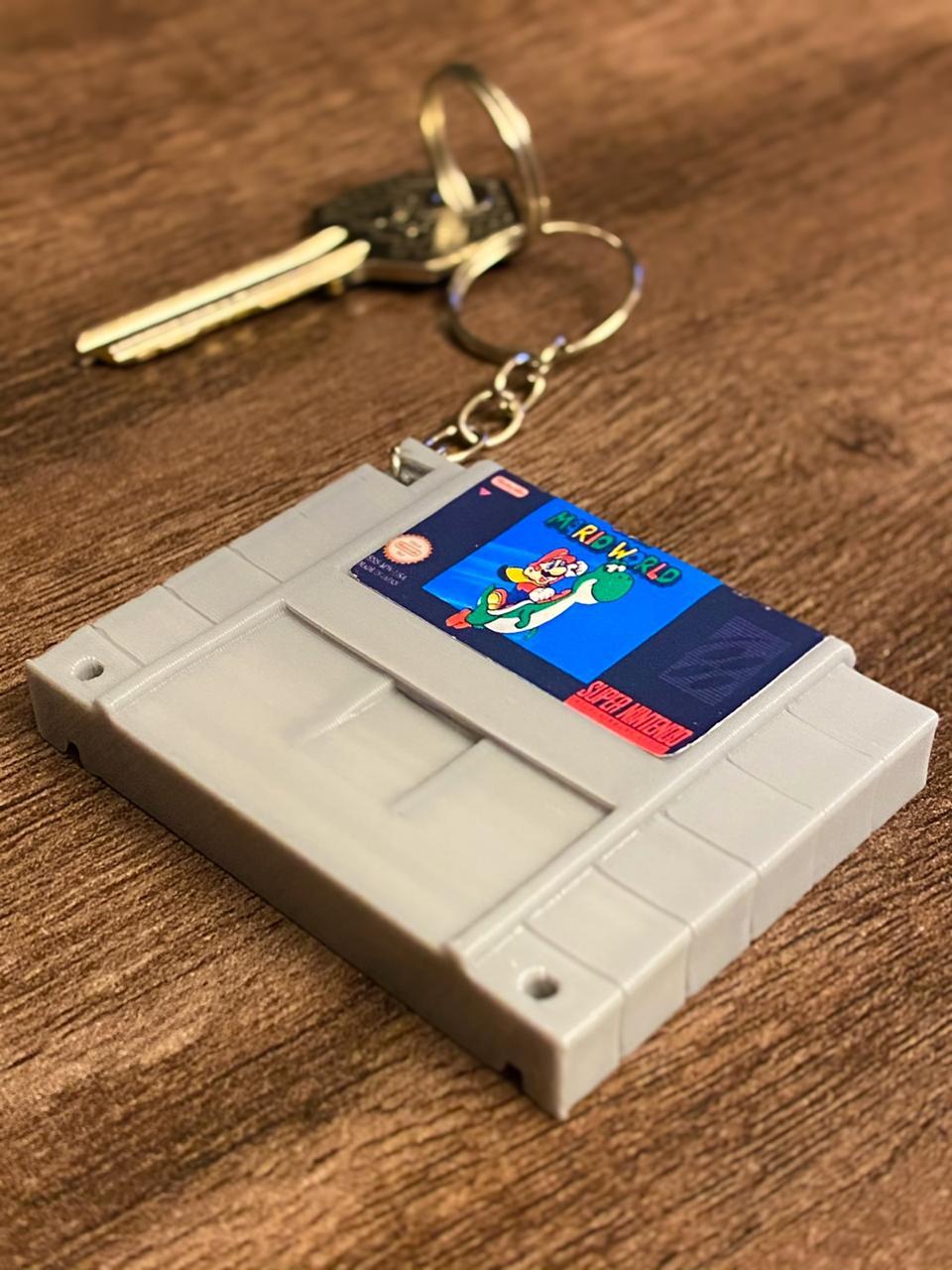 Chaveiro Cartucho Super Mario Bros.: Nintendo