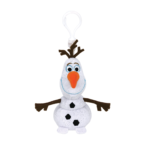 Chaveiro Clip On Frozen (Disney): Olaf - DTC