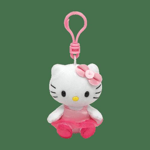 Chaveiro Clip On Hello Kitty: Hello Kitty Bailarina - DTC