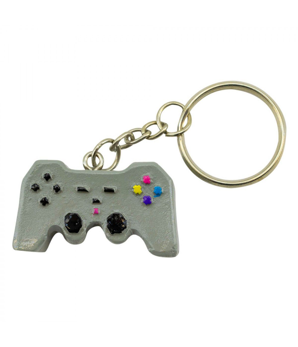 Chaveiro Controle Playstation - Game Over (3.5cm)