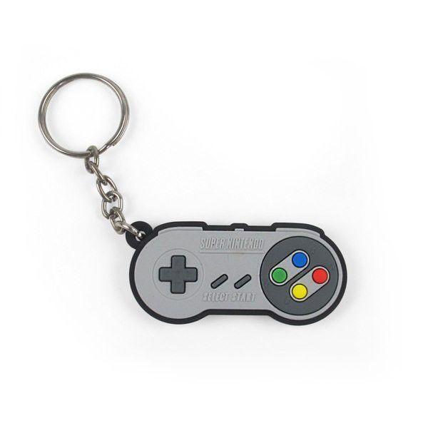 Chaveiro Cute Controle Super Nintendo (SNES) - Fábrica Geek