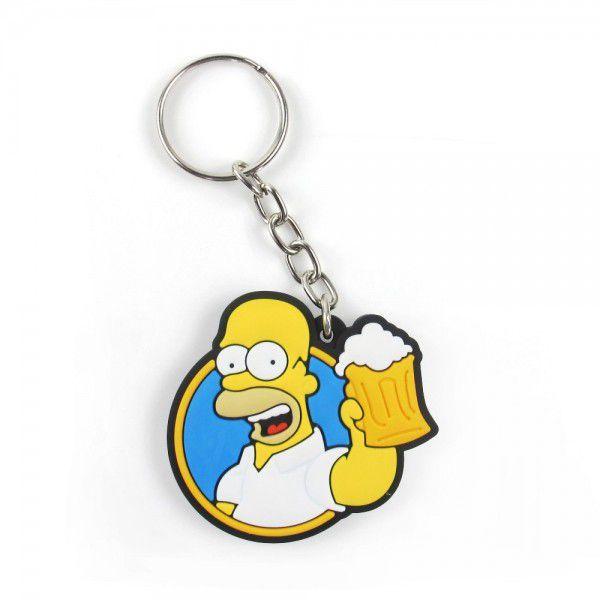 Chaveiro Cute Homer Simpson (Os Simpsons) - Fábrica Geek