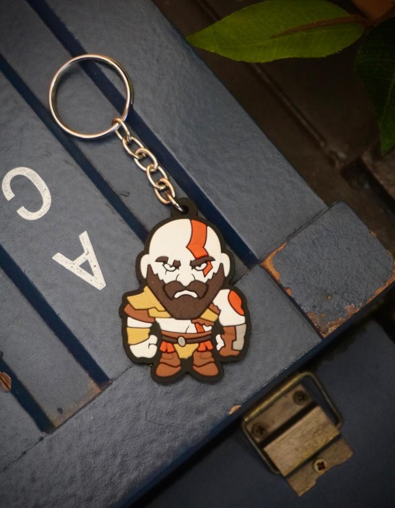 Chaveiro Cute Kratos - God of War