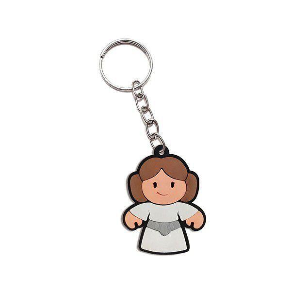 Chaveiro Cute Leia - Star Wars