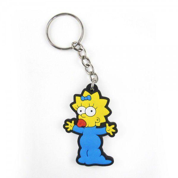 Chaveiro Cute Maggie Simpson (Os Simpsons) - Fábrica Geek