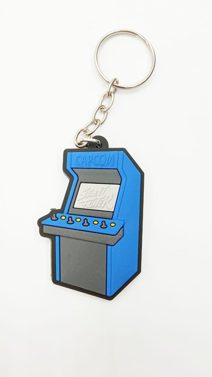 Chaveiro de Borracha Arcade Street Fighter - Capcom - EV