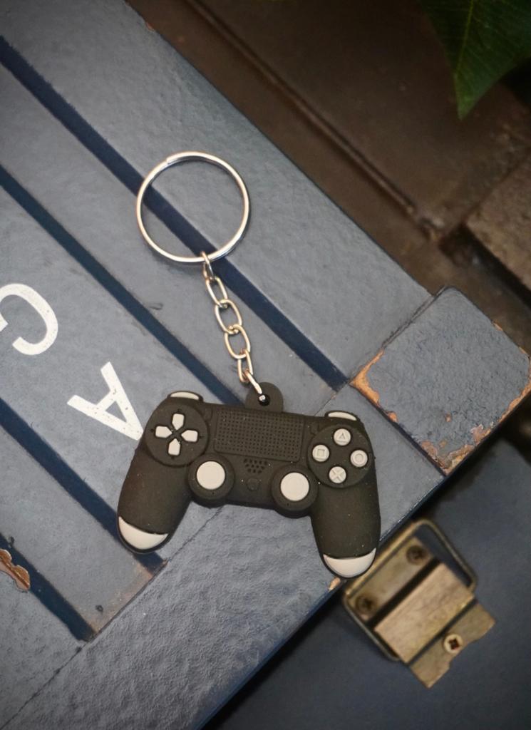 Chaveiro de Borracha Controle PlayStation