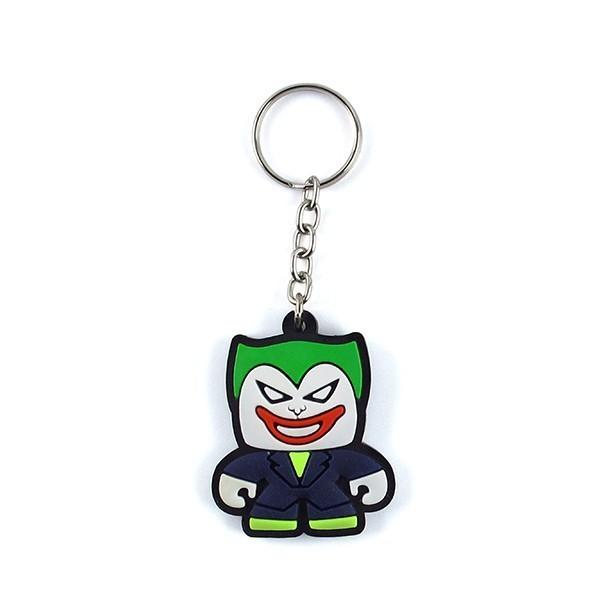 Chaveiro de borracha: Cute Coringa: (Joker): DC Comics - Fabrica Geek