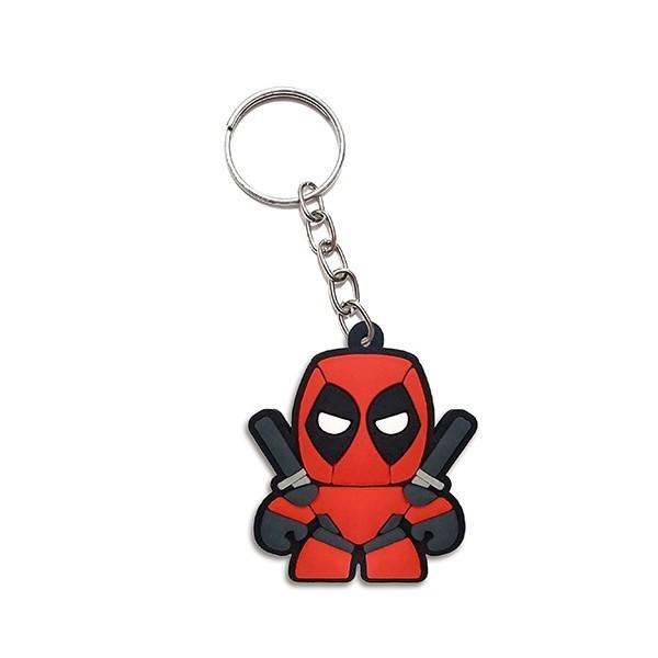 Chaveiro de borracha: Cute Deadpool: Marvel - Fabrica Geek