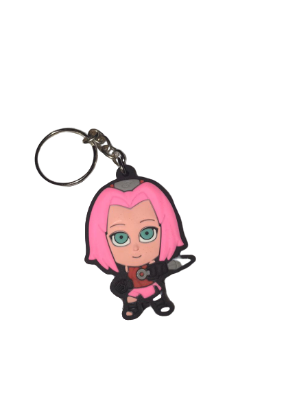Chaveiro de borracha:Cute Sakura Haruno: Naruto Shippuden - Fabrica Geek