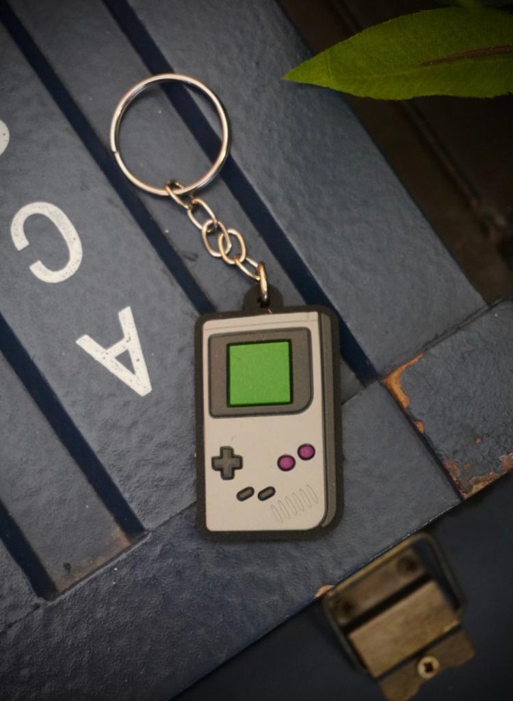 Chaveiro de Borracha Game Boy