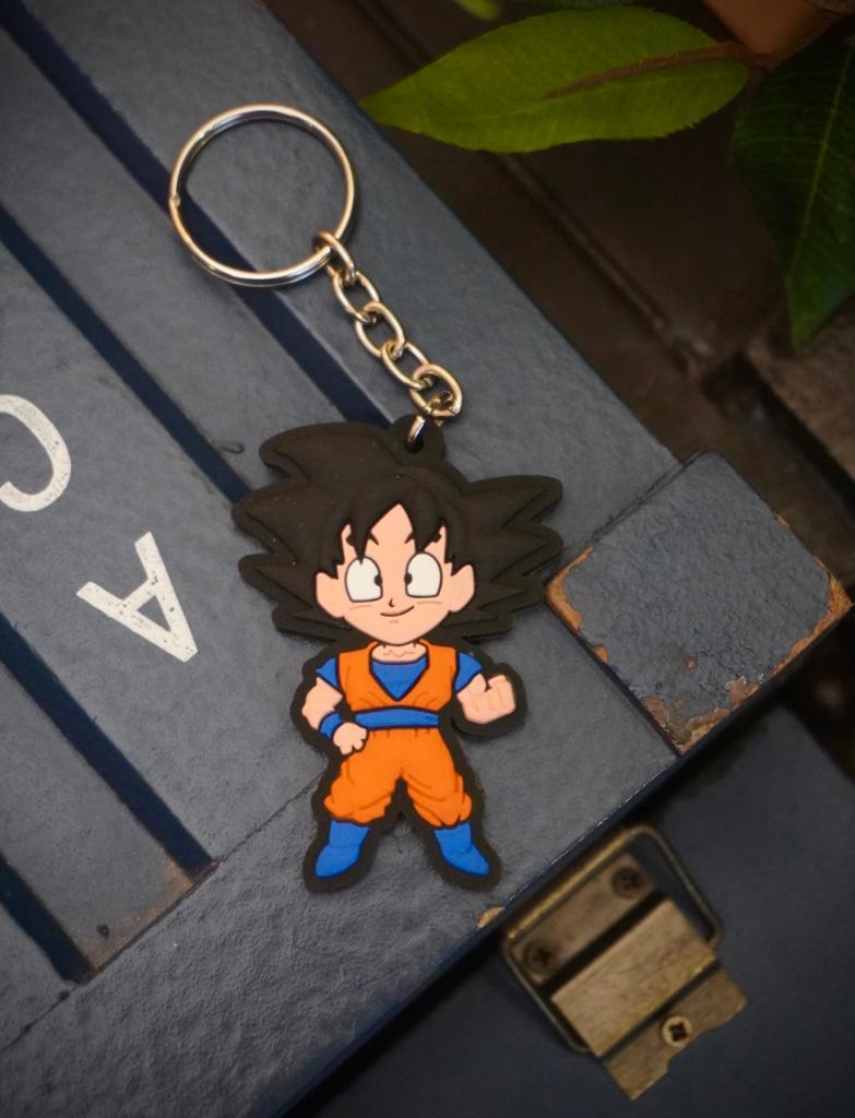 Chaveiro de Borracha Goku: Dragon Ball